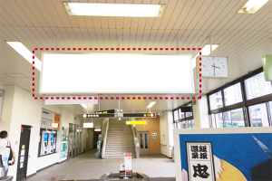 f-020-01駅構内吊り看板画像